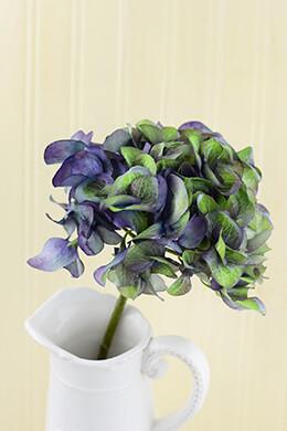 Hydrangea Flower Purple 18.5in