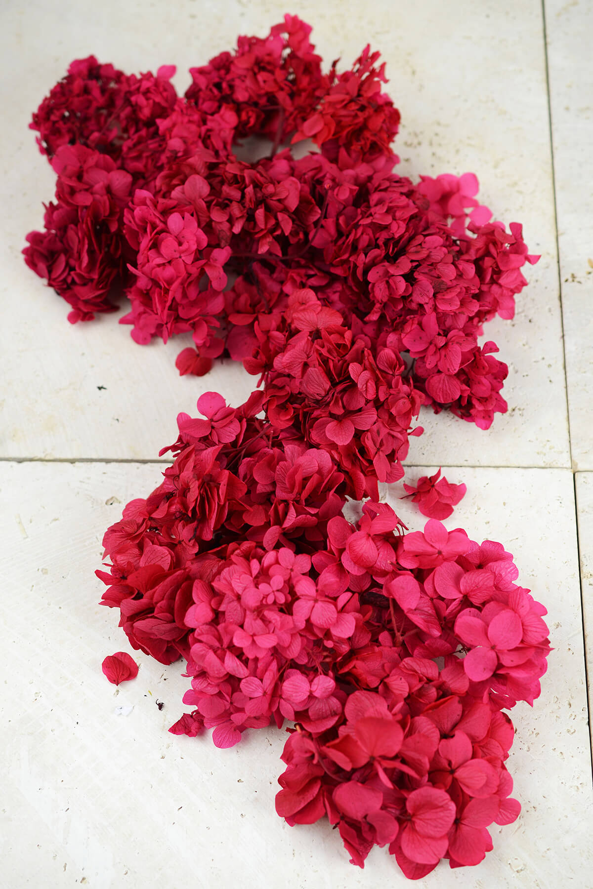 Preserved Red Hydrangea Flowers 2 oz., Potpourri