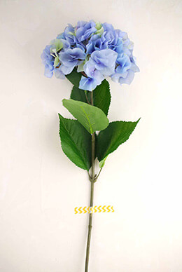 Hydrangea Spray Blue 29in