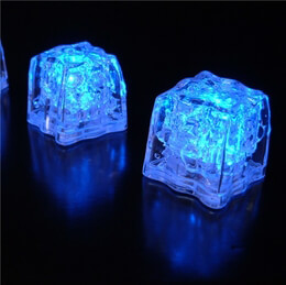 LED Ice Cubes Blue | Pack of 8