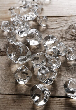 Clear Vase Gems (24 pieces)