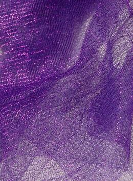 "Iridescent Purple Tulle Netting 32"" wide 3 yards"