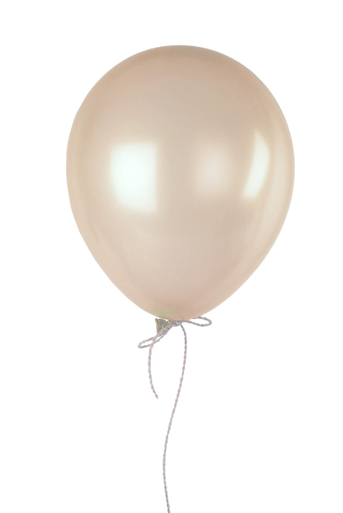"100 Ivory 12"" Balloons Pearl Finish"