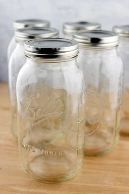 6 Half Gallon Mason Jars Ball� Canning Jars Wide Mouth