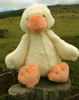 Jellycat Small Soft Bashful Duckling 8""
