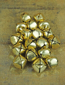 Jingle Bells Gold 1in 18pk
