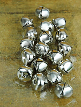 Jingle Bells Silver 1in 18pk