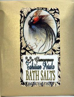JoJo Glamourpuss Tahitian Petals Bluebird Bath Salts