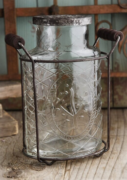 Joshua Tree Glass Potpourri Jar