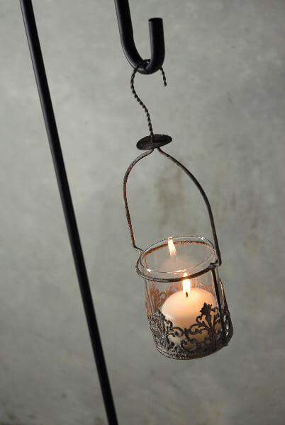 Juliet Hanging Votive Candle Holder & Vase 12in