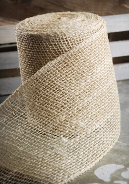 Jute Ribbon Ivory 10yds