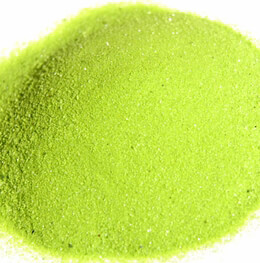 Kiwi Green Sparkle Sand 2 lbs
