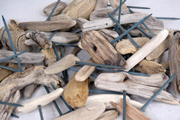 "Lake Superior Driftwood 2""-6"" on 4"" Picks 50 pcs."