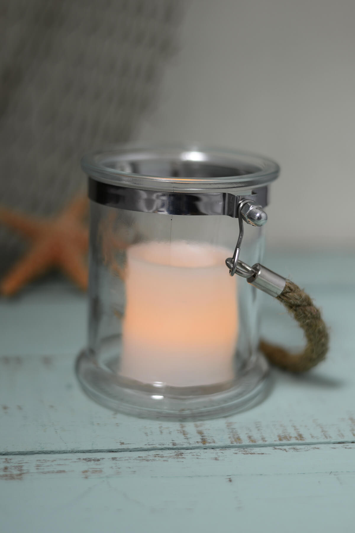 "Hanging Candle Holder 4""5in"