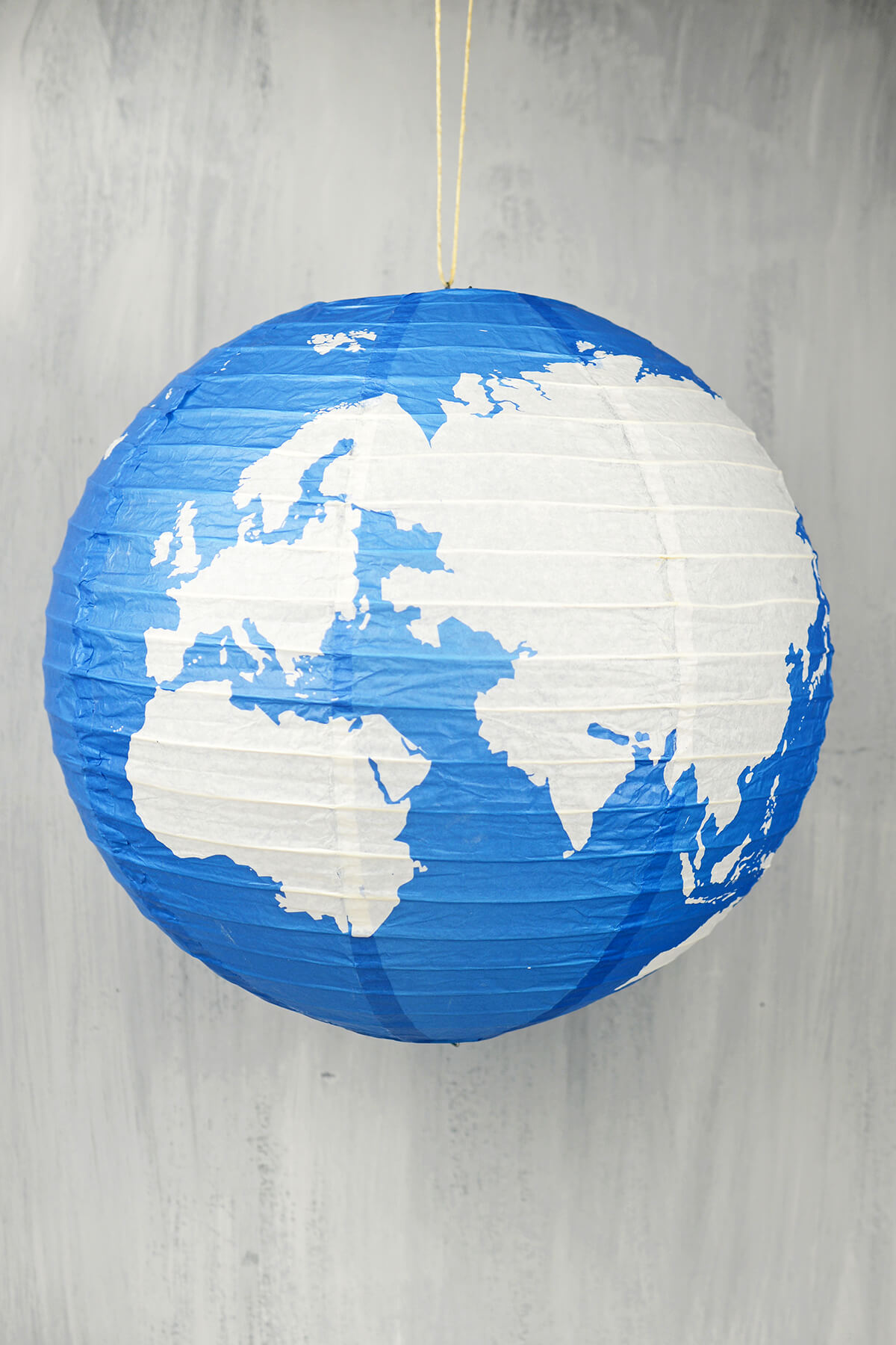 "16"" Earth Globe Paper Lanterns"