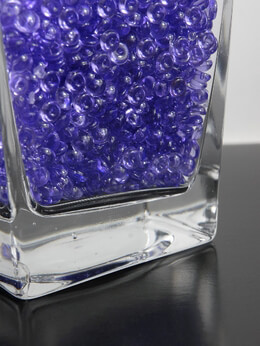 Vase Gems in Purple | 2 cups