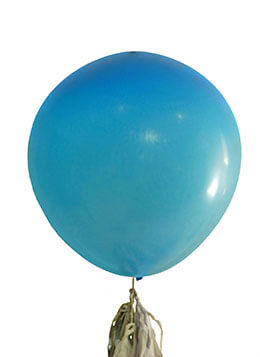 Large Blue Balloons 36in (Set of 2)