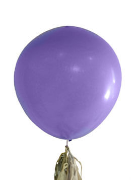 Large Purple Balloons 36in (Set of 2)