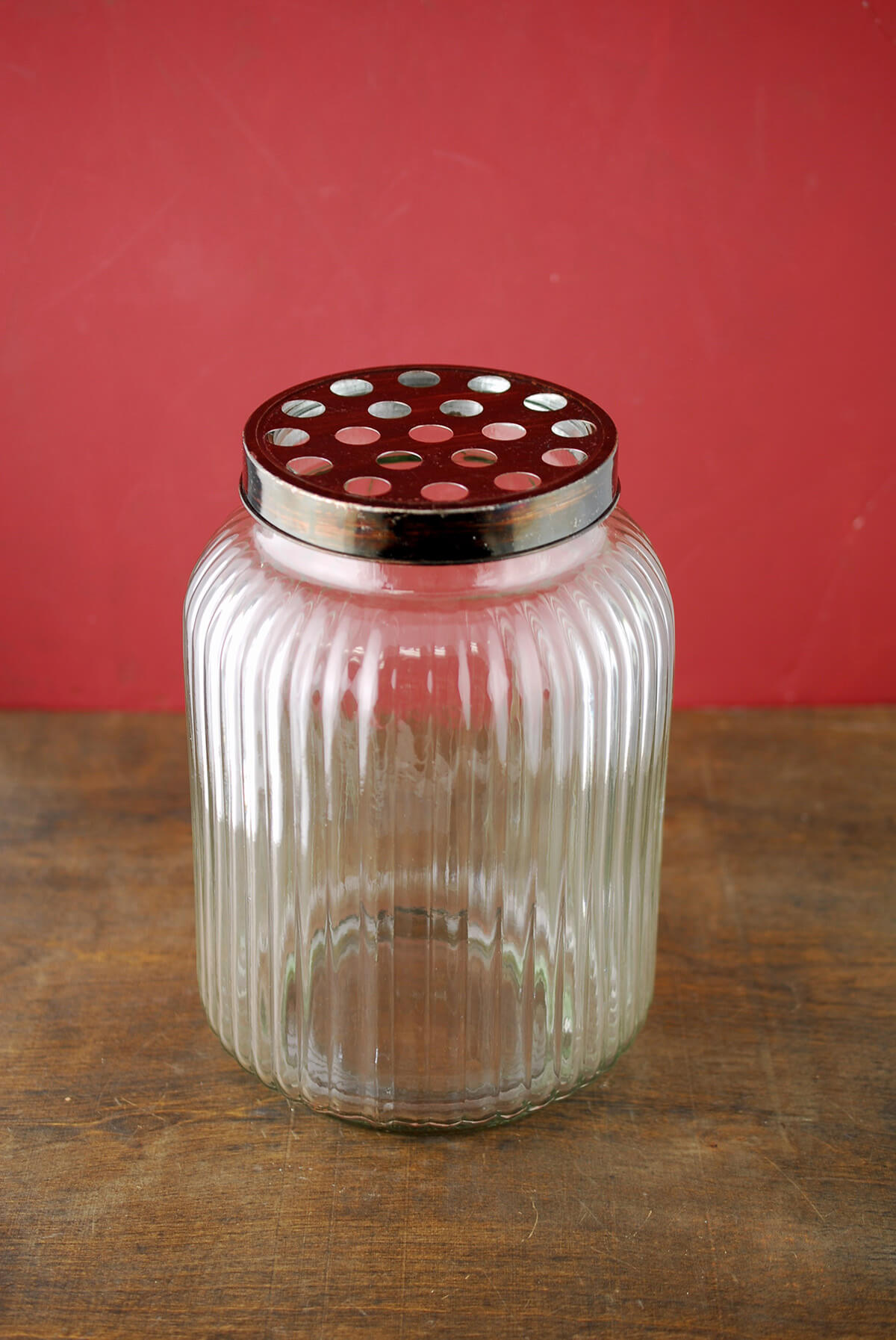 Large Glass Jar with Frog Lid