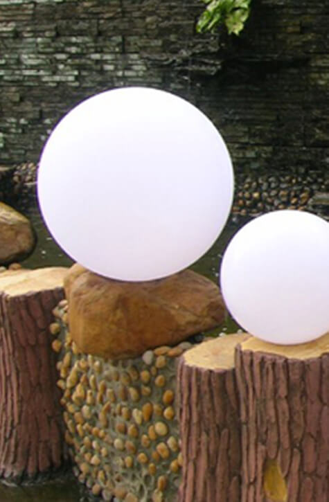 13 Inch Orb Shell, MOD Poly Balls