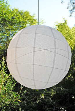 Large Paper Lantern Round White 36in