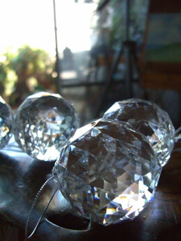 Large Weighted Acrylic Crystal 2in Spheres (Pack of 6)
