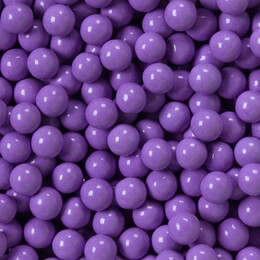 Lavender Sixlets Favor Candy 14oz