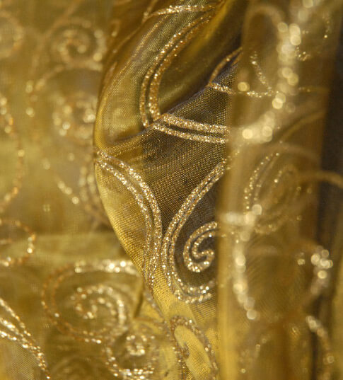 Gold Fabric 3yds