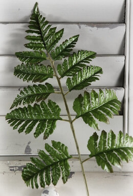 Artificial Fern Leaf 22in