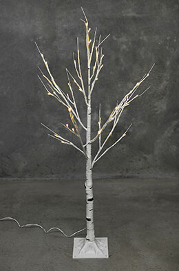 LED Birch Tree Warm White 4ft