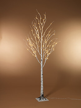 LED Birch Tree Warm White 5ft