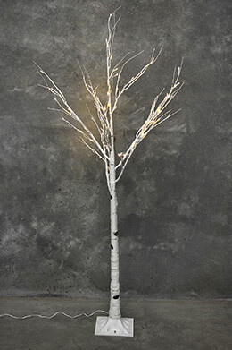 LED Birch Tree Warm White 6ft