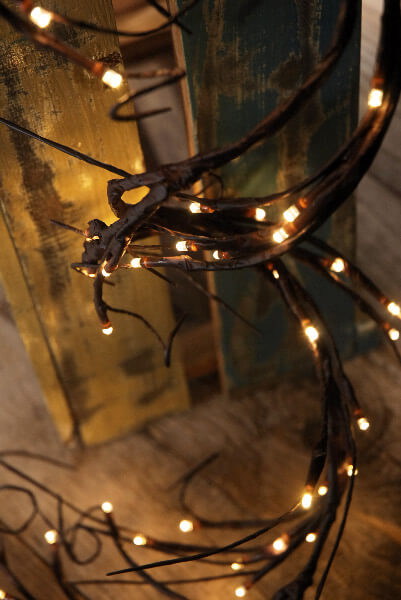 Led Garland String Lights : LED Branch Light Garland Warm White