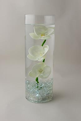 LED Cylinder Vase 13.75in