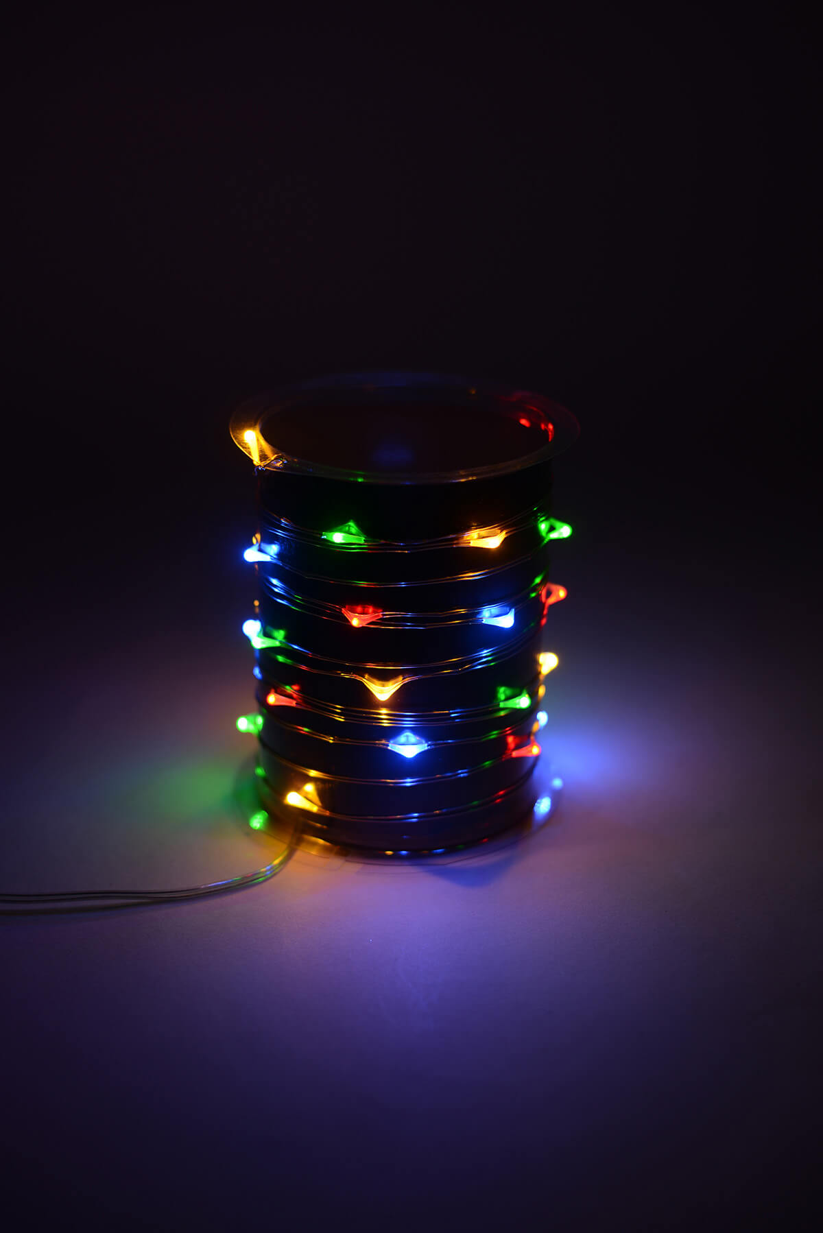 Everlasting Glow Micro Led Light String Battery Op 10