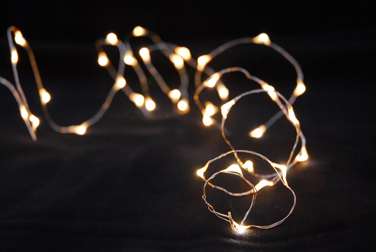 Led Light Firefly Warm White 16ft 100ct