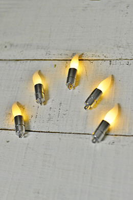 12 Battery Operated LED Flicker Candle Flames