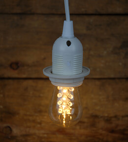 LED S14 Edison Light Bulb Warm White (E26 base)