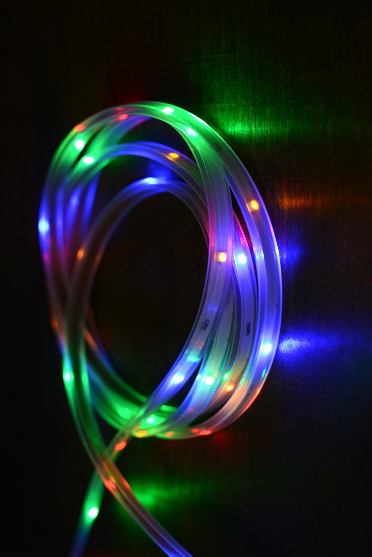 led light strip multicolor 18ft 108ct. Black Bedroom Furniture Sets. Home Design Ideas