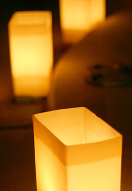 Battery Operated Luminary Lights