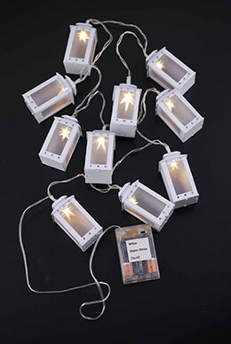 LED Mini Lantern String Lights 10ct