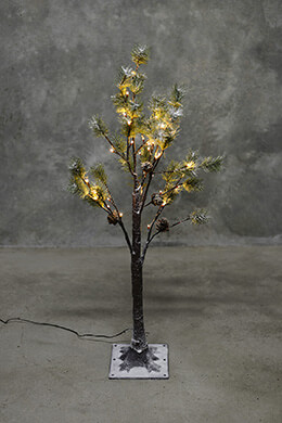LED Pine Tree Warm White 3ft