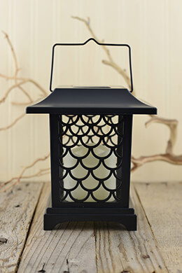 6 LED Solar Candle Lanterns 7.5in