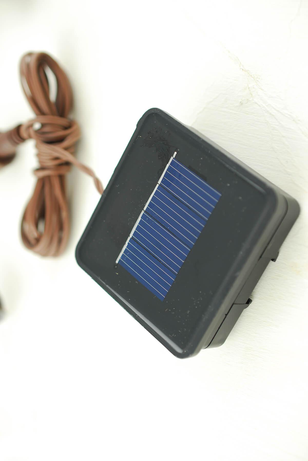 Solar Led String Lights Warm White : LED Solar String Lights Warm White 6ft - 10ct