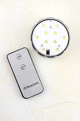 LED Submersible Light Disc White