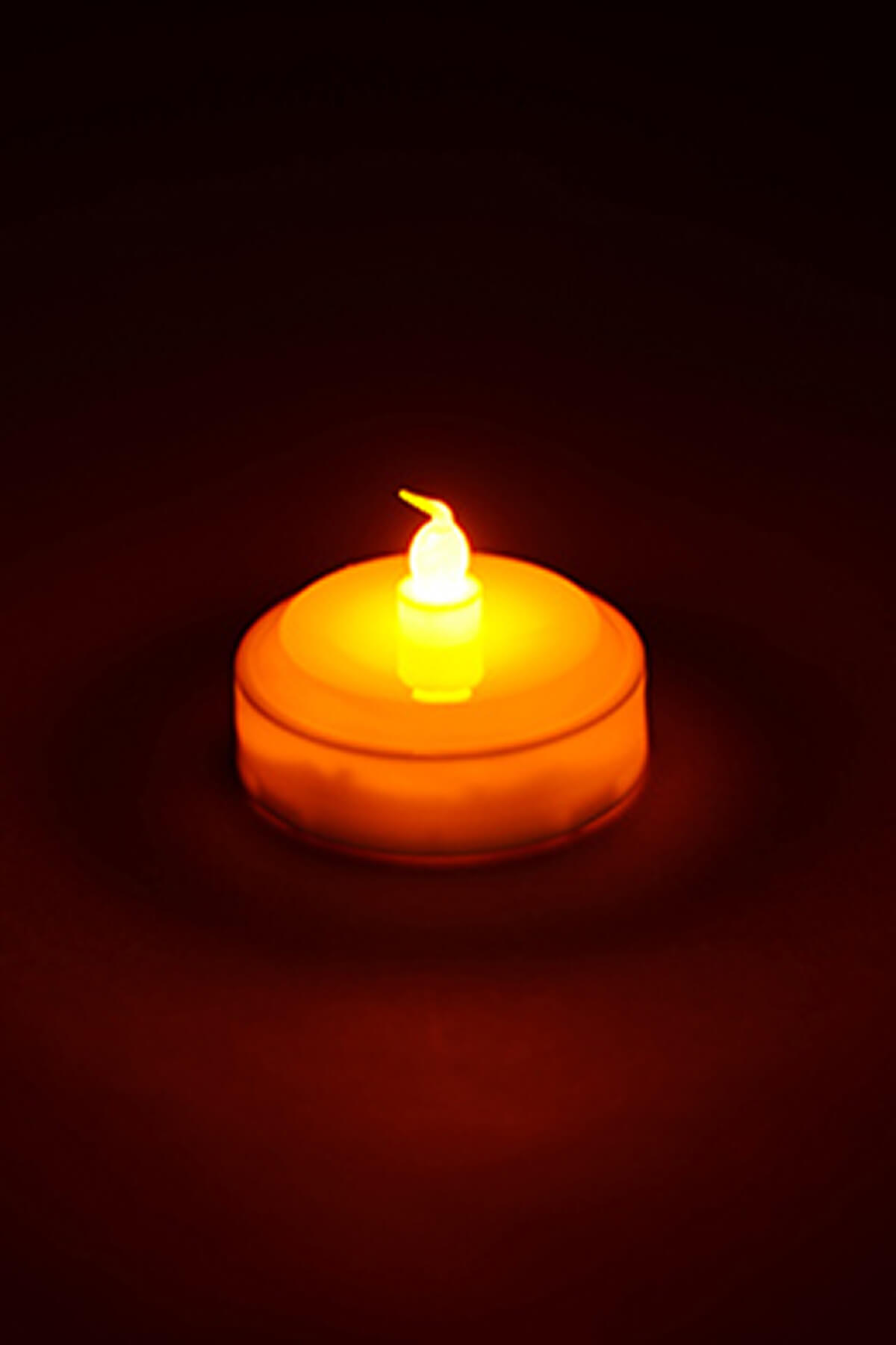 LED Tealight Battery Operated 2.5x1.75in