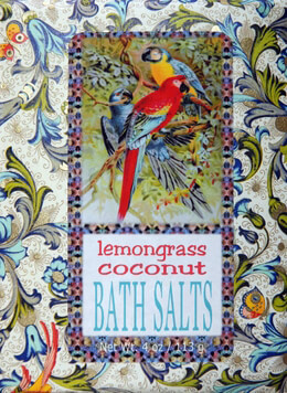 Lemon Grass and Coconut Bluebird Bath Salts