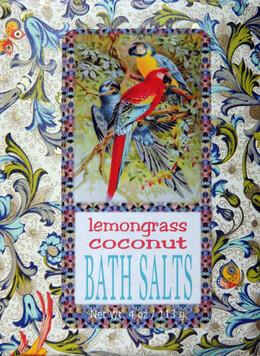 Lemon Grass and Coconut Bluebird Bath Salts