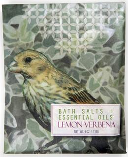 Lemon Verbena Bath Salts & Essential Oils