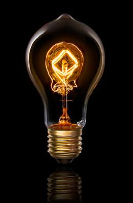 Cleveland Vintage Lighting™ Edison Bulbs: 40W Up-Down Vintage Style Light Bulb